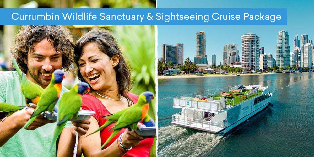 Currumbin Wildlife Sanctuary & Sightseeing Cruise Package