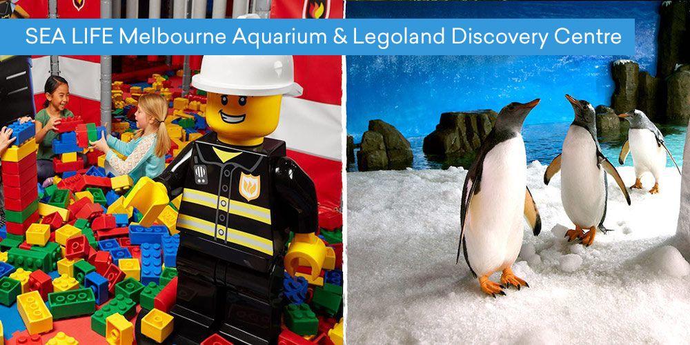 SEA LIFE Melbourne Aquarium & Legoland Discovery Centre