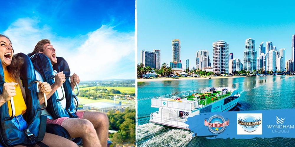Dreamworld Unlimited Pass & Sightseeing Cruise