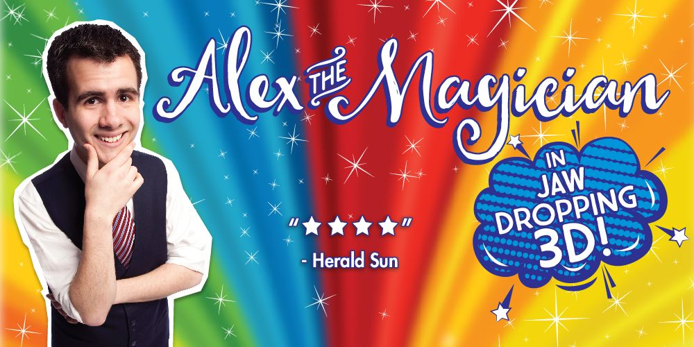 Alex the Magician: In Jaw-Dropping 3D!