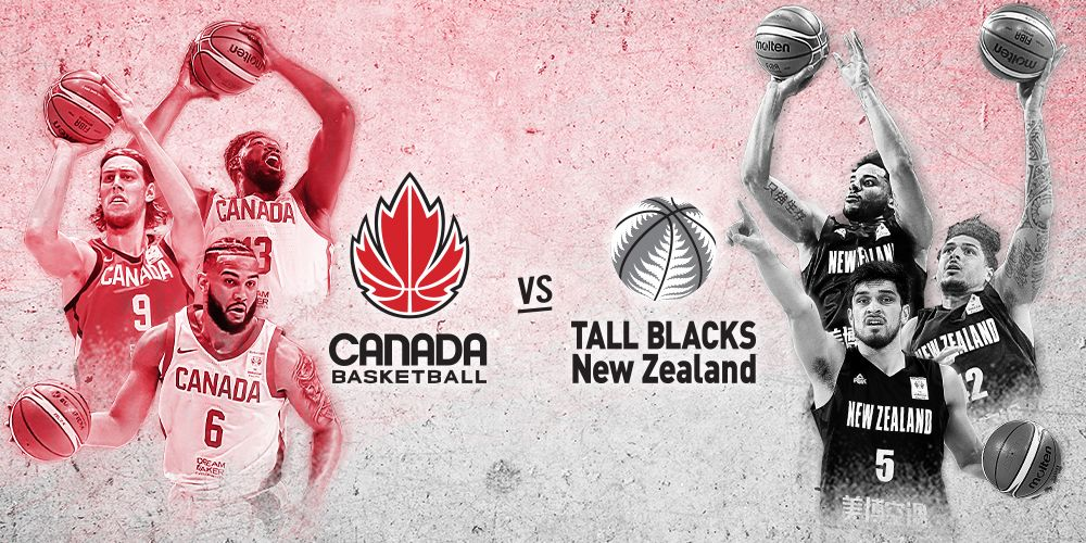 Canada Basketball vs New Zealand Tall Blacks