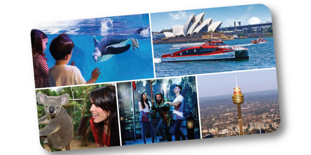 Sydney Attraction and Harbour Ferry Pass