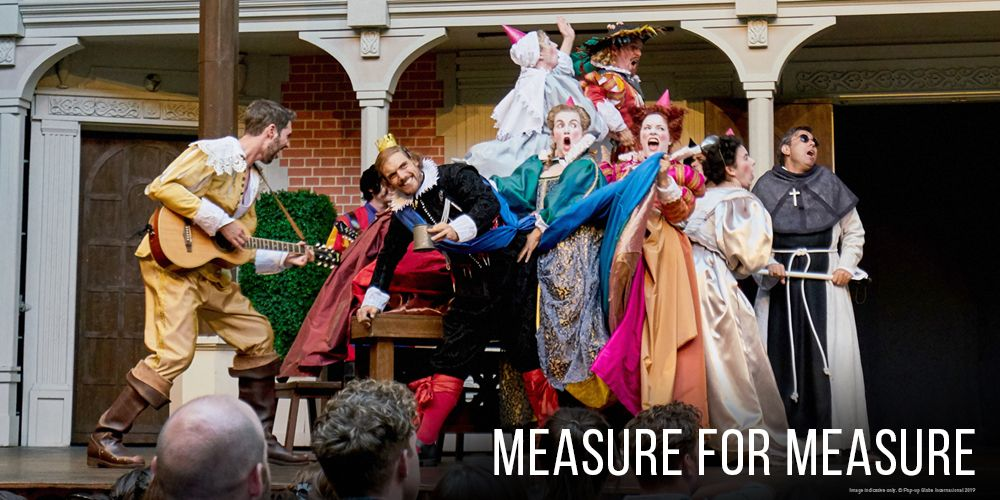 Pop-up Globe: Measure for Measure