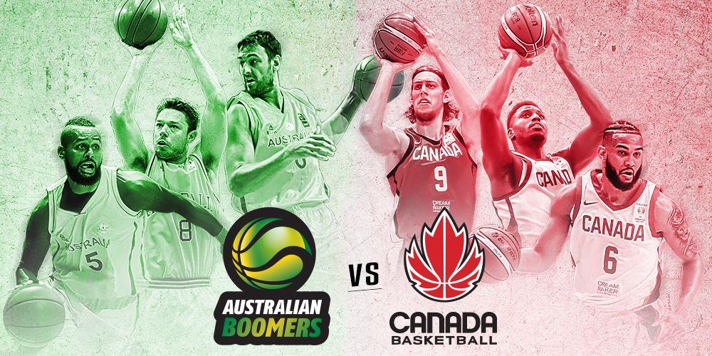 Australian Boomers vs Canada Basketball