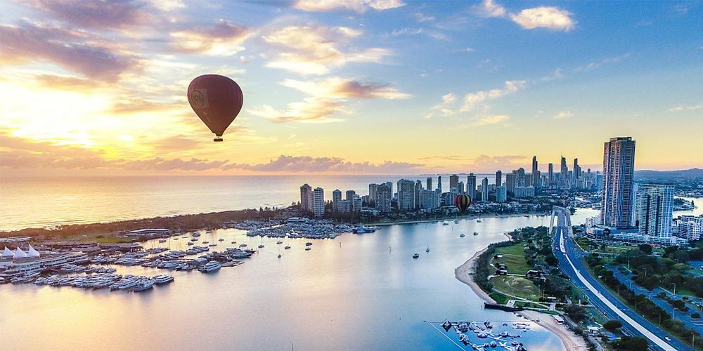Gold Coast Hot Air Balloon Flight