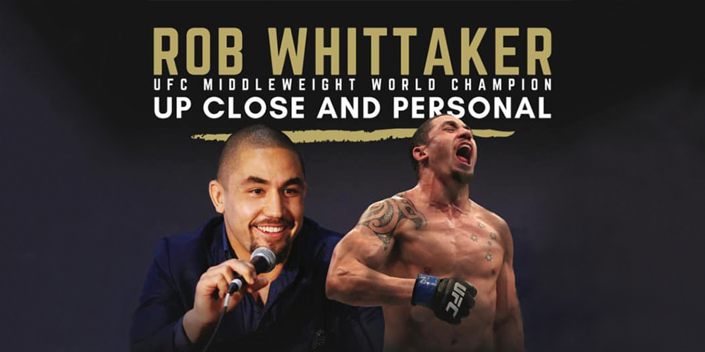 Robert Whittaker - Up Close and Personal