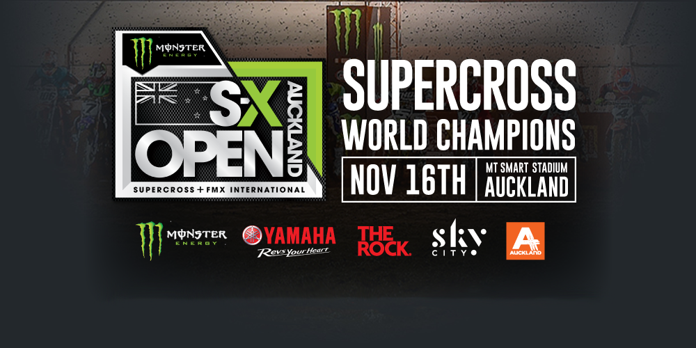 Monster Energy S-X Open Auckland