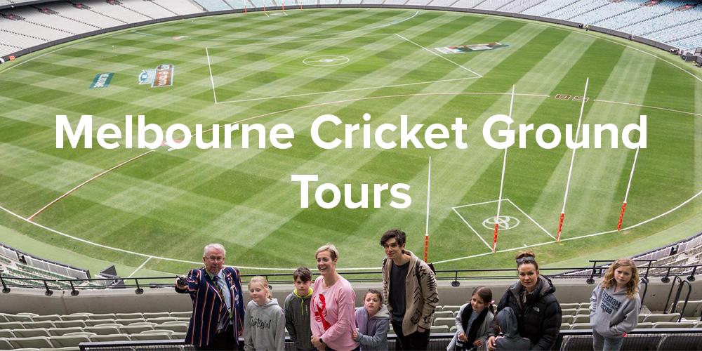 Melbourne Cricket Ground Tours