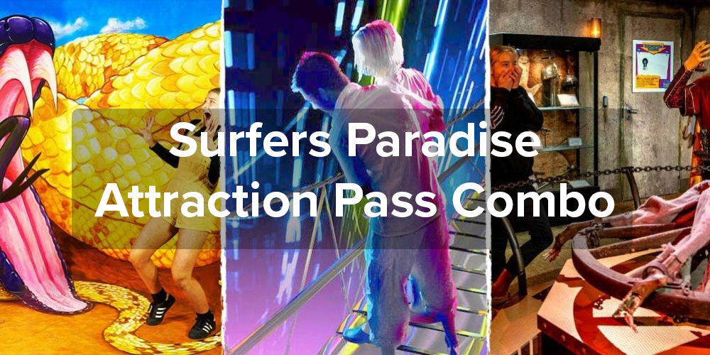 Surfers Paradise Attraction Pass Combo