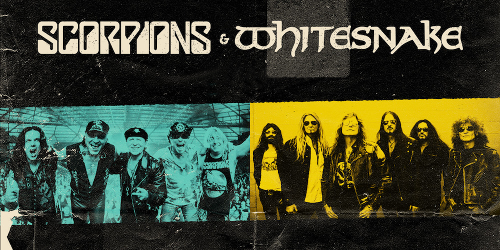 Scorpions and Whitesnake