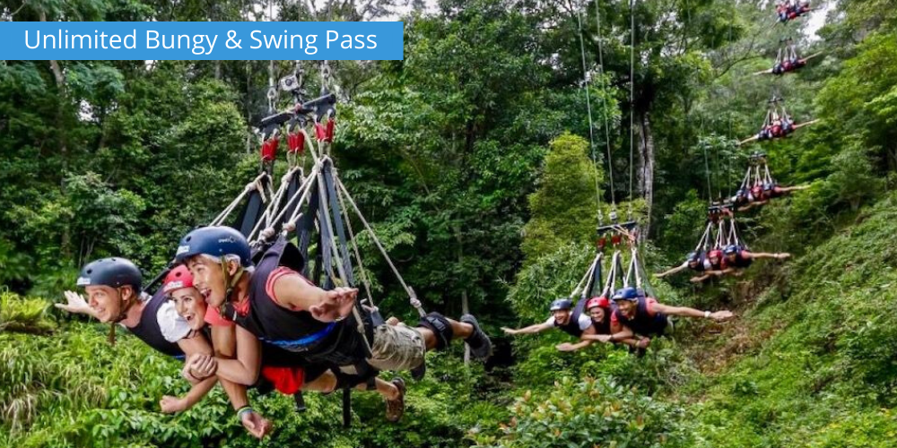 Unlimited Bungy & Swing Pass