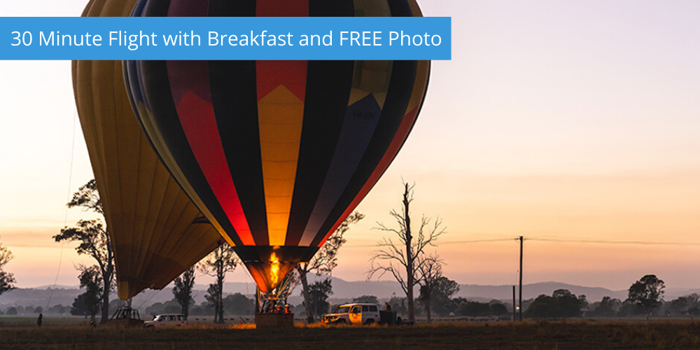 30 Minute Flight with Breakfast and FREE Photo