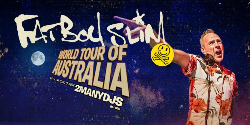 Fatboy Slim - Live at Sidney Myer Music Bowl, Melbourne (Jan 2020)