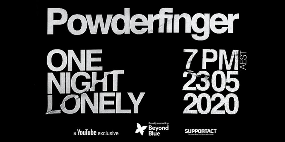 Powderfinger: One Night Lonely 2020