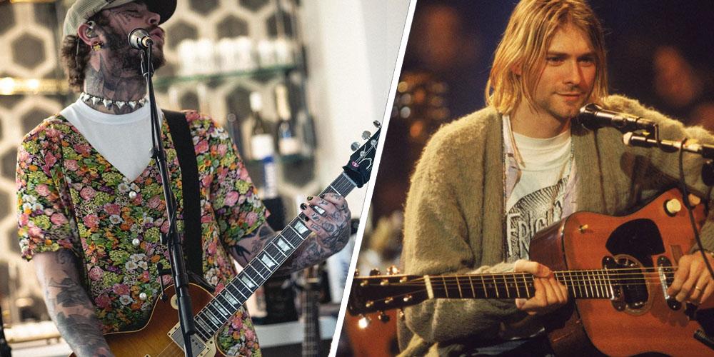 Post Malone Nirvana Tribute