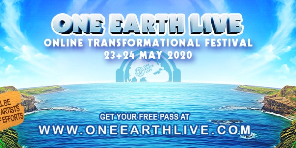 One Earth Live - Online Transformational Festival