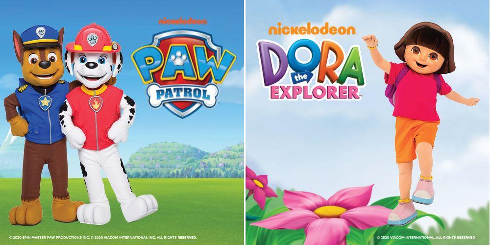 Nickelodeon: Hour of Power ft. Paw Patrol & Dora The Explorer