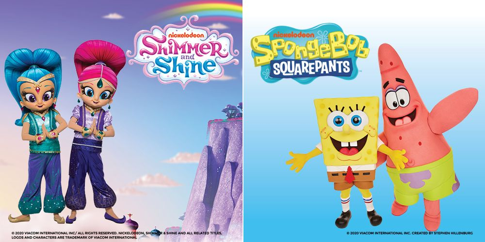 Nickelodeon Hour of Power ft. Spongebob and Shimmer & Shine