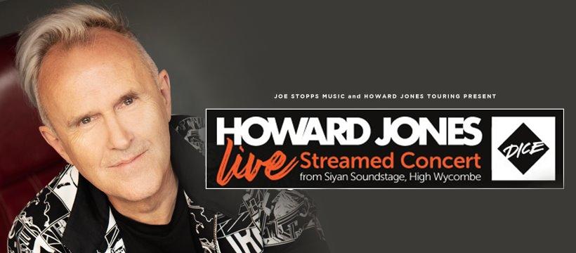 Howard Jones Live Stream Concert