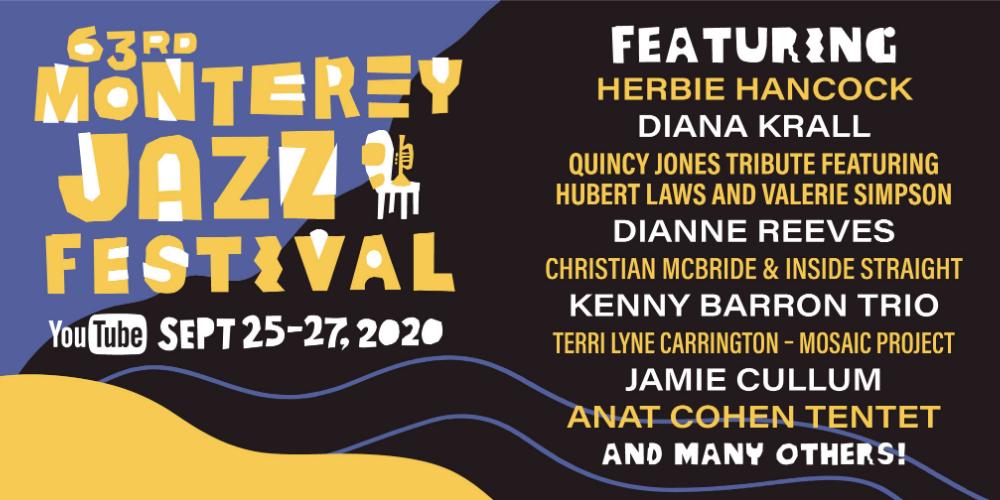 2020 Virtual Monterey Jazz Festival