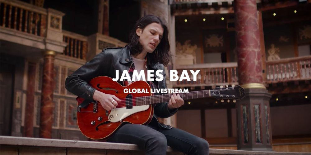 James Bay: Live at Shakespeare's Globe