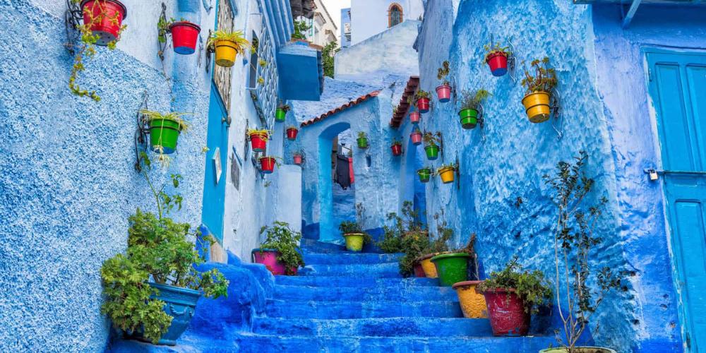 LIVE Interactive Tour: Explore The Blue City Of Chefchaouen